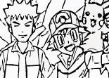 coloriage, Pokémon, dessin
