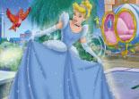 puzzle, Cendrillon, princesse, observation, Disney