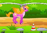 poney, course équestre, équitation, fille