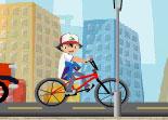 bmx, Pokémon, vélo, bicyclette