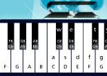 piano, musique, instrument