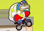 cascade en moto, saut, 2 roues, bécane, moto