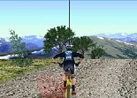 vélo, vtt, bicyclette, 3D, mountain bike