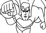 Superman Online Coloring Game