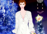 mariage, Noël, habillage, dress up, wedding