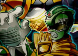 Power Rangers, puzzle, observation