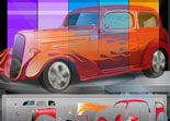 voiture,  hot road, tuning, personnalisation automobile, customisation