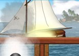 pirate, bateau, corsaire