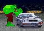 démolition, Hulk, voiture, super héros, comics