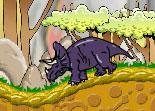 aventure, dinosaure, homme des cavernes