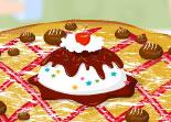 cuisine, tarte, décoration