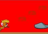 cartoon, course à pied, Tom et Jerry