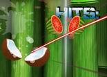 fruit ninja, réflexe, adresse