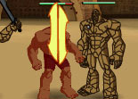 Hulk, gladiateur, combat, Bruce Banner, super héros, comics
