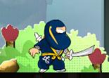ninja, aventure, plateforme