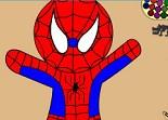 Spiderman, coloriage, dessin, peinture