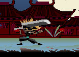 ninja, arts martiaux, plateforme