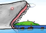 requin, squale, survie, animaux, gore