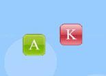 éducatif, lettres, alphabet