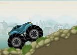 tout-terrain, voiture, monster truck