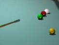 Billard, queue de billard, adresse, sport