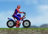 Spiderman, vélo, distance, dextérité, héros