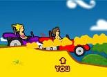 buggy, tout terrain, voiture, automobile, course