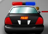 police, flic, poursuite, voiture, tir