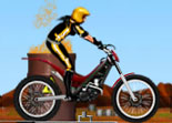 moto de trial, bécane, moto, 2 roues