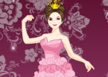 princesse, Disney, habillage, fille