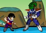 Gohan, Dragonball, combat, kaméaméa, super héros