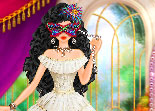 princesse, relooking, habillage, bal masqué, déguisement