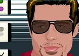 beauté, Brad Pitt, relooking, star