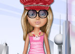 Bratz, poupée, habillage, fashion, dress up, mode, Cloé