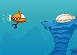 sous-marin, trésor, insubmersible