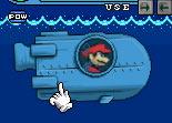 Mario, sous-marin, insubmersible, nintendo