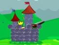 worm, tir, tirer, canon, chateau, château, duel, worms, trajectoire