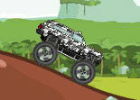 voiture, tout terrain, automobile, monster truck