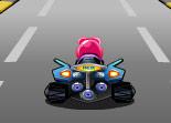 voiture, kart, karting, course
