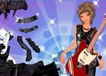 habillage, rock, relooking, fille, styliste, rockeuse