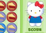 Hello Kitty, série de trois, tarte, série de 3, observation