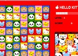 Hello Kitty, série de 3, observation, série de trois