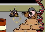 tir, shoot, guerre, mitraillette, FPS