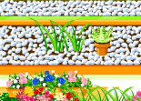 fleur, décoration, métier, jardin floral