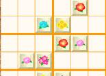 fleur, réflexion, sudoku