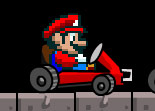 Mariokart, course, kart, karting
