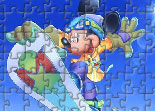 Mickey, puzzle, Disney, observation