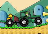 Mario, tracteur, conduite, dextérité