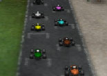 course, kart, karting, 3D, voiture, circuit