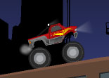 monster truck, voiture, automobile, tout terrain